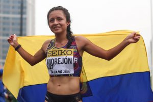 MARCHISTA ECUATORIANA GLENDA MOREJÓN INIVTADA A LA «WORLD ATHLETICS AWARDS 2019» DE LA IAAF