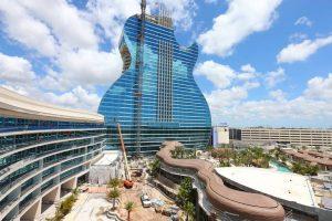 HARD ROCK ESTRENA UN HOTEL EN FLORIDA EN FORMA DE GUITARRA