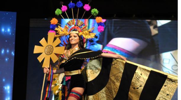 'Sumaq' es el traje que llevará la Miss Ecuador 2020 al Miss Universo