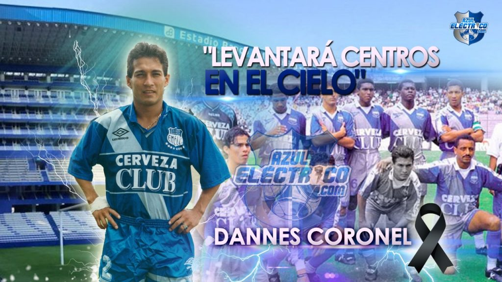 Fallece Dannes Coronel, exfutbolista bicampeón con Emelec, a los 47 años, víctima de infarto