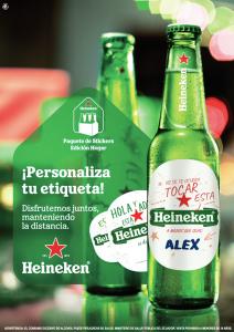 """Heineken nos invita a que """"disfrutemos juntos manteniendo la distancia"""""""