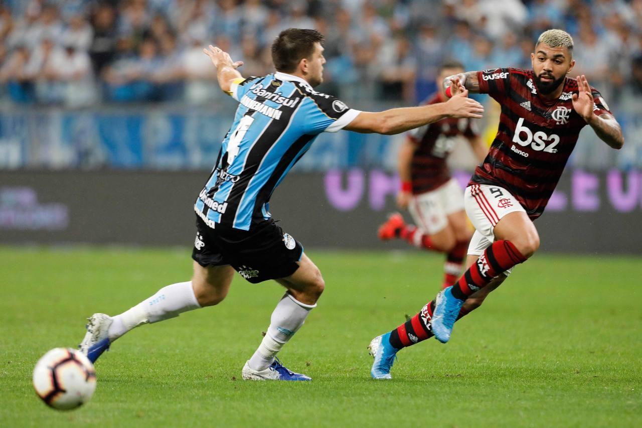 Gremio y Flamengo empatan en la semifinal de ida de la Copa Libertadores