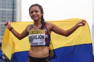 """MARCHISTA ECUATORIANA GLENDA MOREJÓN INIVTADA A LA """"WORLD ATHLETICS AWARDS 2019"""" DE LA IAAF"""