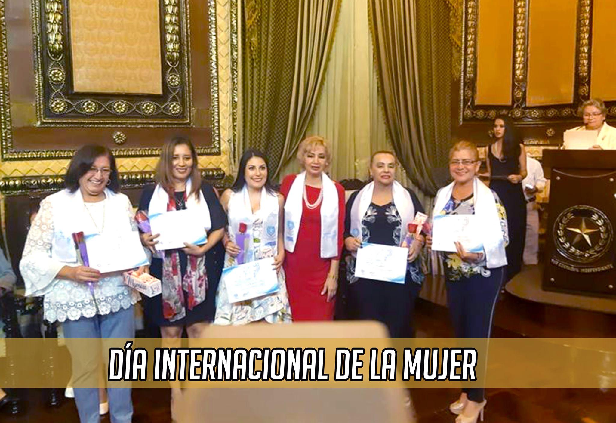 Festejo por el día Internacional De La Mujer