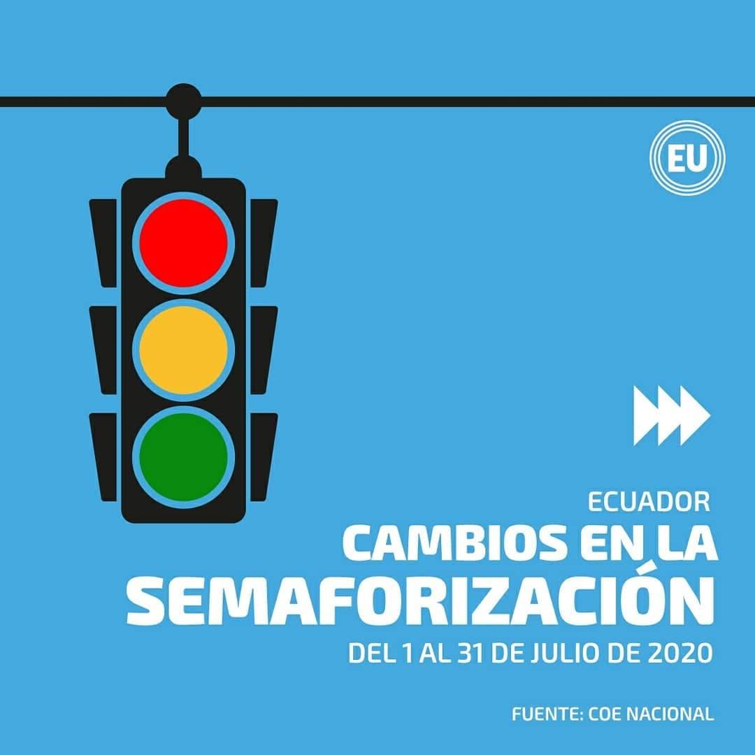 Nuevas disposiciones del COE Nacional.