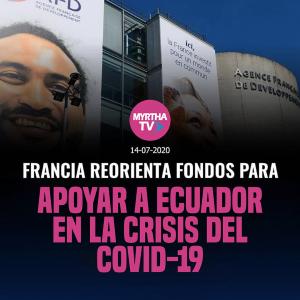 FRANCIA REORIENTA FONDOS PARA APOYAR A ECUADOR EN LA CRISIS DEL COVID-19