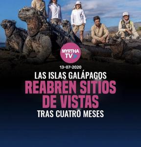 GALÁPAGOS REABRE SITIOS DE VISITA TRAS CUATRO MESES DE CIERRE POR COVID-19