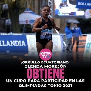 Glenda Morejón obtiene un cupo para las olimpiadas de Tokio 2021