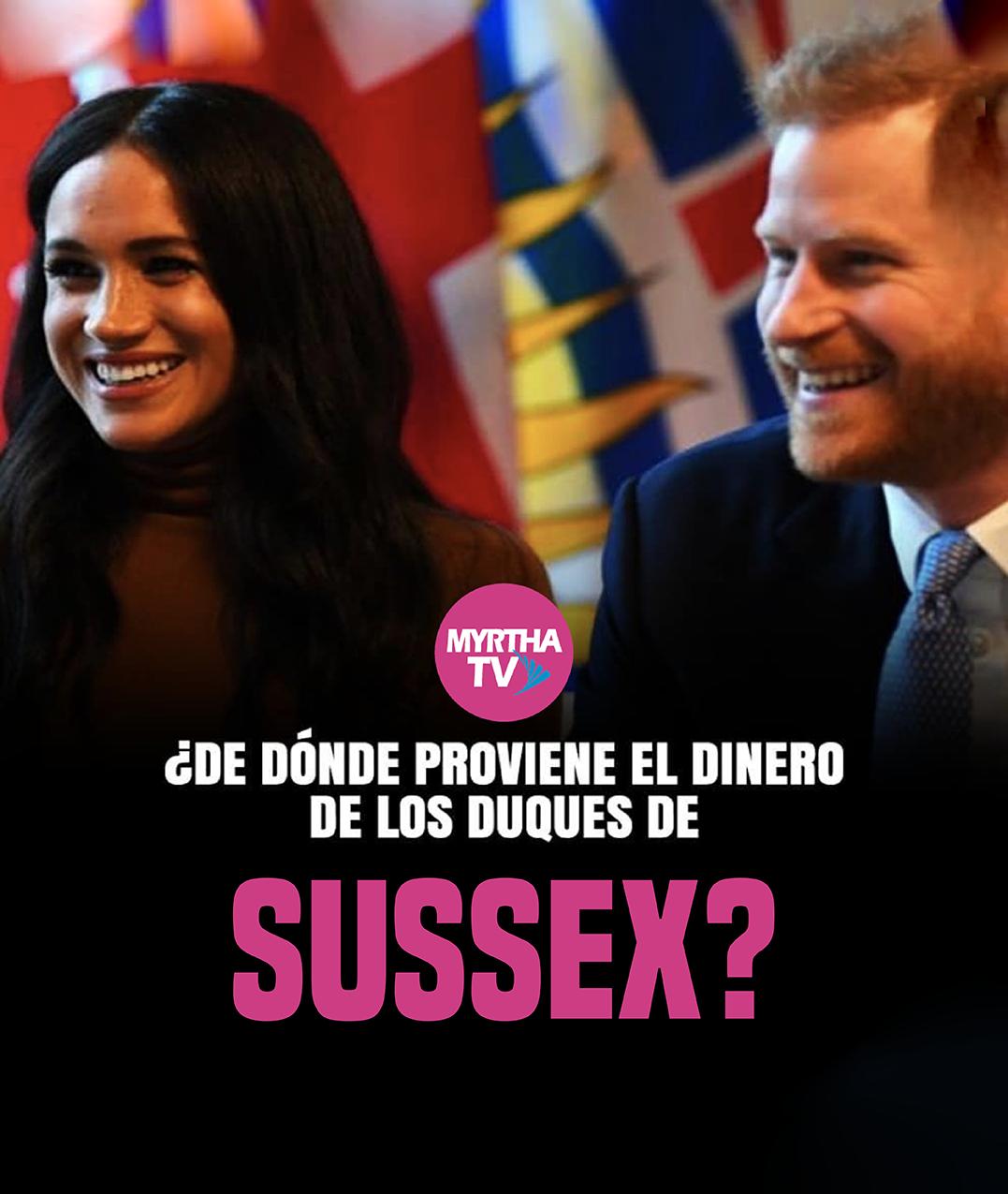 ¿De dónde proviene el dinero de los duques de Sussex?