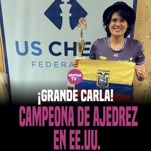 GRANDE CARLA CAMPEONA DE AJEDREZ EN EE.UU