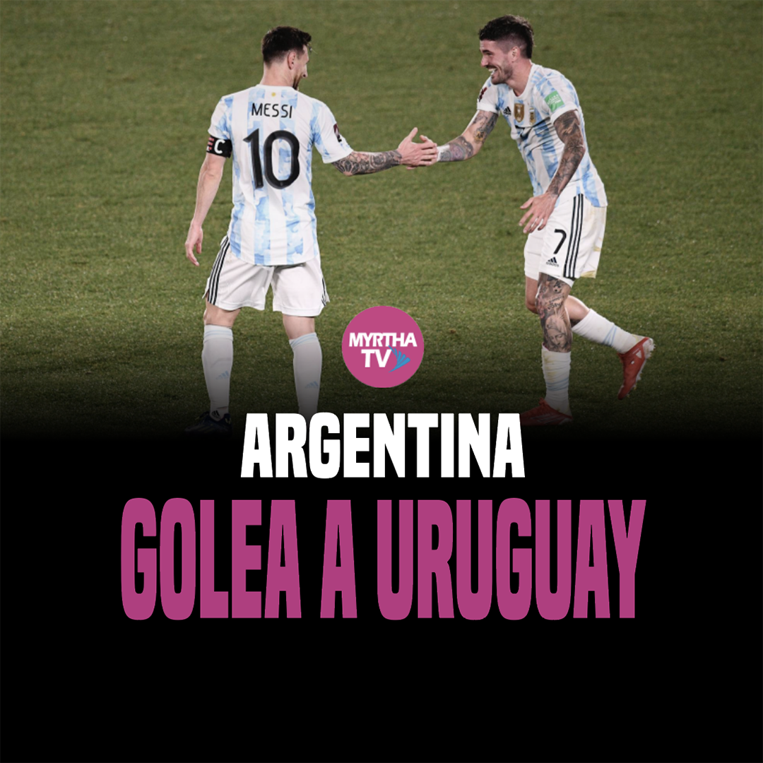 ARGENTINA GOLEA  A URUGUAY