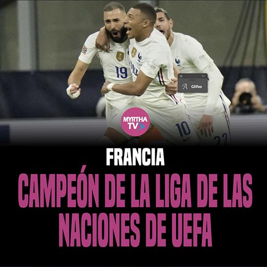 FRANCIA CAMPEÓN DE LA LIGA DE LAS NACIONES DE UEFA